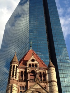 Copley Square: Reason 482 why I love Boston. (Typical guys in Boston are the ONLY thing I don't love about this city).