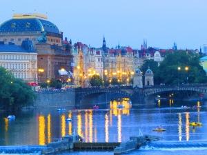 The famous Charles Bridge in Prague